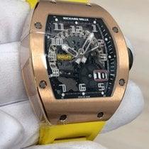 Richard Mille RM029 Ruzicasto zlato RM 029 39.70mm nov