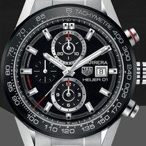 TAG Heuer Carrera Calibre HEUER 01 neu 2020 Automatik Chronograph Uhr mit Original-Box und Original-Papieren CAR201Z.BA0714