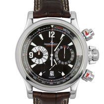 Jaeger-LeCoultre Master Compressor Chronograph Steel 41.5mm Black United States of America, New York, Smithtown