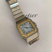 Cartier Santos Galbée occasion Or/Acier