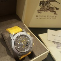 Burberry Steel Quartz BU7712 new