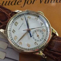 Longines Gold/Steel 30.6mm Manual winding Longines Flyback pre-owned