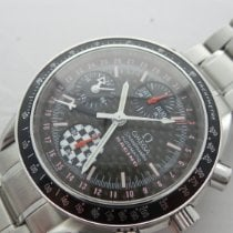 Omega 3529.50.00 Steel Speedmaster Day Date pre-owned