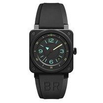 Bell & Ross BR 03 nuevo 2019 Automático Reloj con estuche y documentos originales BR0392-IDC-CE/SRB