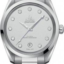 Omega Seamaster Aqua Terra Steel 38.5mm Silver