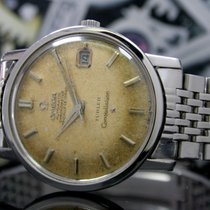 Omega Constellation pre-owned 35mm Date Leather