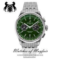 百年灵 for Bentley 钢 42mm 绿色