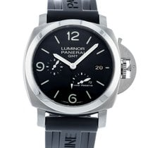 Panerai Luminor 1950 3 Days GMT Power Reserve Automatic Steel 44mm Black United States of America, Georgia, Atlanta