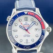 Omega Seamaster Diver 300 M 41mm White Arabic numerals United States of America, Massachusetts, Boston