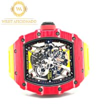 Richard Mille Koolstof 44.50mm Automatisch RM 35-02 tweedehands