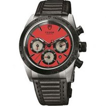 Tudor Fastrider Chrono 42010N-LEATHER-RED new