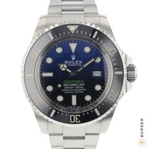 Rolex Sea-Dweller Deepsea Stahl 44mm Blau