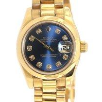 Rolex Datejust 26 Lady 179168 Yellow Gold Diamonds 26mm