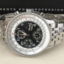 Breitling Navitimer Montbrillant Moonphase Steel 42 mm (Full...
