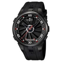 Perrelet Turbine XL Steel 48mm Black