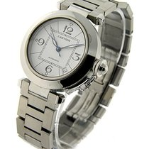 Cartier W31074M7 Cartier Pasha C - Stainless Steel on Bracelet...