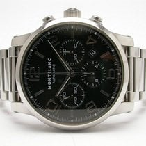 Montblanc 7069 Timewalker Chronograph Automatic Mens Steel...