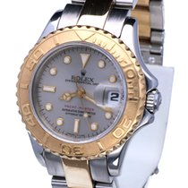 Rolex Oyster Yacht-Master Lady Gold Steel Grey Dial 29 mm