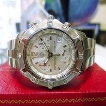 TAG Heuer Exclusive Chronograph Ref: Cn1111 Stainless Steel Watch