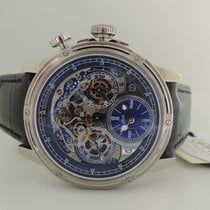 Louis Moinet Memoris Hvitt gull 46mm