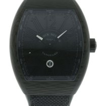 Franck Muller Vanguard V45 SC DT Watch with Rubber, Textile...