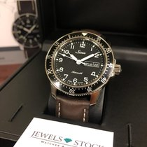 Sinn 104 Steel 41mm Black Arabic numerals