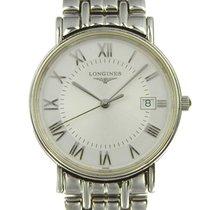 ロンジン Mens Quartz Wrist Watch With White Dial L4.720.4