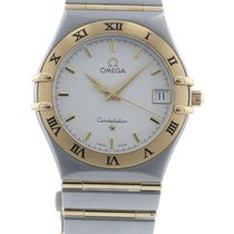 Omega Constellation '95 1212.30.00 Watch with 18k Yellow Gold,...