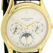 Patek Philippe Perpetual Calendar Or jaune 36mm Argent