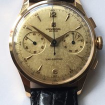 Universal Genève Red gold 38mm Manual winding Compax pre-owned United States of America, Texas, Houston
