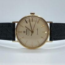 Omega Vintage Seamaster Tiffany Automatic 36mm 18Kt YELLOW GOLD