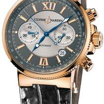 Ulysse Nardin Marine Chronograph 356-66-3 подержанные