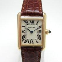 Cartier Tank Louis Cartier gebraucht 22mm Gelbgold