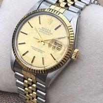 Rolex Datejust (Submodel) begagnad 36mmmm Guld/Stål