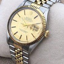 Rolex Datejust (Submodel) μεταχειρισμένο 36mmmm Χρυσός / Ατσάλι