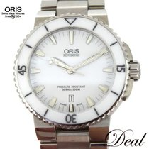 오리스BC4,새 시계/미 사용,박스 있음, 서류 있음,42 mm,스틸