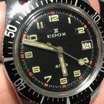 Edox Stal 35,5mm Manualny używany Polska, Borowie