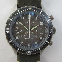 Zenith Pilot Type 20 neu Automatik Chronograph Uhr mit Original-Box und Original-Papieren 11.2240.405/21.C773