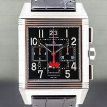 Jaeger-LeCoultre Reverso Squadra World Chronograph Titanium 35mm Black Arabic numerals United States of America, Massachusetts, Boston