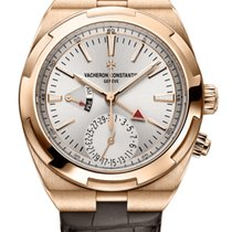 Vacheron Constantin Overseas Dual Time Rose gold Silver United States of America, Florida, North Miami Beach