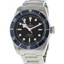 Tudor 79220B Stål 2014 Black Bay 42mm begagnad