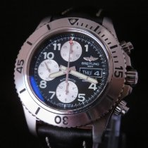 Breitling Superocean Chronograph Steelfish pre-owned 44mm Leather