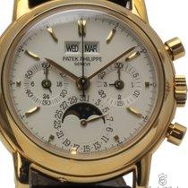 Patek Philippe Perpetual Calendar Chronograph Oro giallo 36mm Argento Italia, Riccione