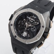 Audemars Piguet Royal Oak Concept Carbono 44mm Negro Sin cifras