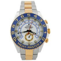 Rolex Yacht-Master II Gold/Steel 44mm White No numerals United States of America, California, Fullerton