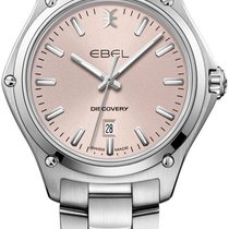 Ebel Discovery Сталь 33mm Розовый Без цифр