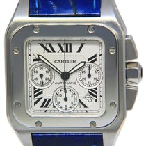 Cartier Santos 100 Steel 41mm Silver Roman numerals United States of America, Florida, 33431