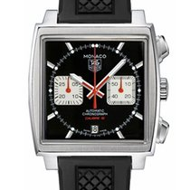 TAG Heuer Monaco Calibre 12 CAW2114.FT6021 TAGHEUER Monaco Racing Black with Red Details 2019 new