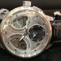 Maurice Lacroix 46mm Handaufzug neu Masterpiece Squelette Silber (massiv)