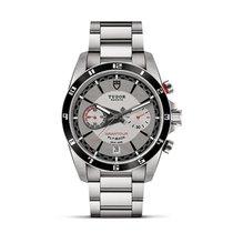 Tudor GRANTOUR Fly Back Steel Bracelet Chronograph M20550N